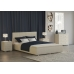 Кровать Veda 3 со встроенным пуфом