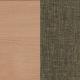 ЛДСП с тканью: Бук Бавария с глазго коричневый